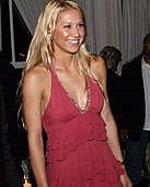 Celebs Caught on Camera Scandals - Anna Kournikova