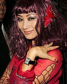 Celebs Caught on Camera Scandals - Bai Ling