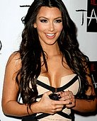 Celebs Caught on Camera Scandals - Kim Kardashian