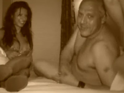 Sex tape of Tom Sizemore fucking a hot and sexy brunette chick